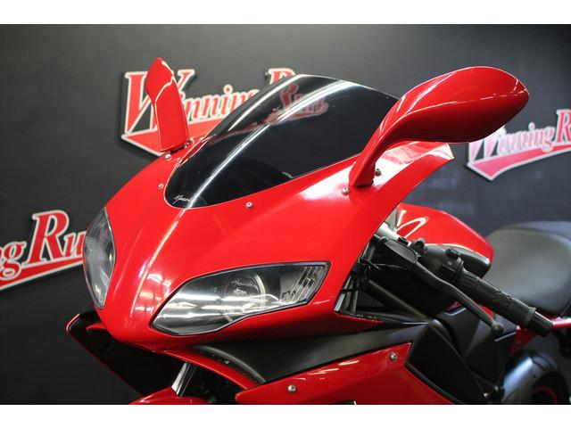 Megelli 250r レッド ヤマモトレーシングマフラー 社外ウインカーの画像(千葉県
