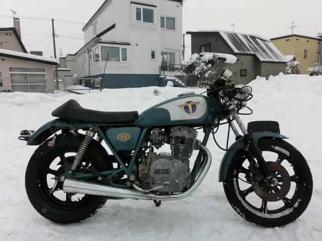 ヤマハ XS250スペシャル フルカスタムカフェレーサーの画像(北海道