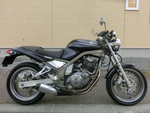 ヤマハ SRX400セル タイヤ前後新品 FフォークOHの画像(北海道