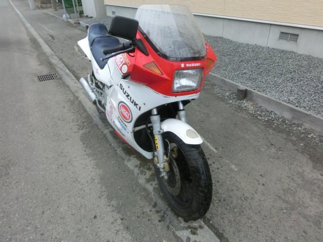 スズキ RG250ガンマ キャブOH タイヤ前後新品の画像(北海道