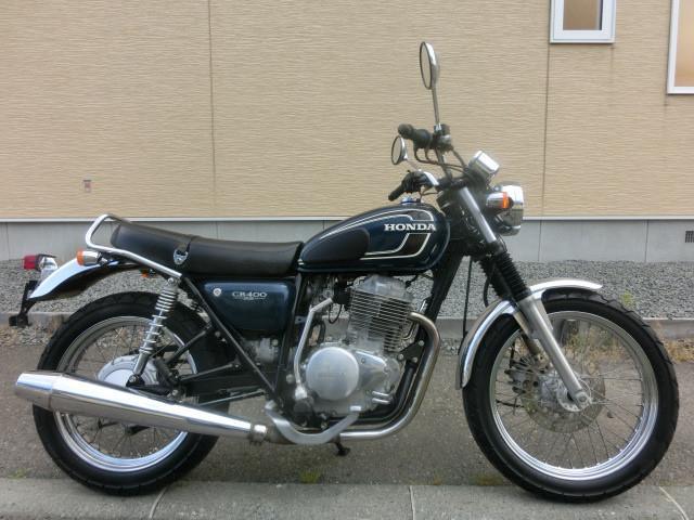 ホンダ CB400SS チェーン新品 キャブOHの画像(北海道