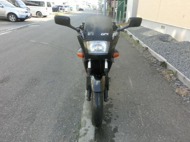 カワサキ GPX250RII タイヤ前後新品 キャブOH チェーン新品の画像(北海道