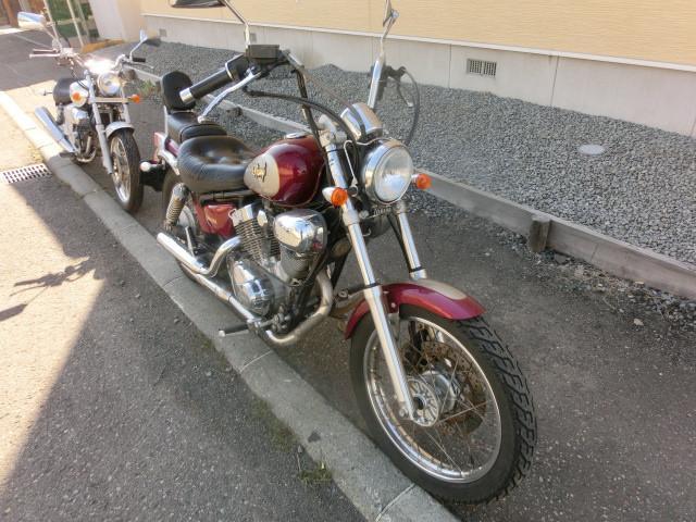 ヤマハ XV250ビラーゴ キャブOH 前後タイヤ新品 バッテリー新品の画像(北海道