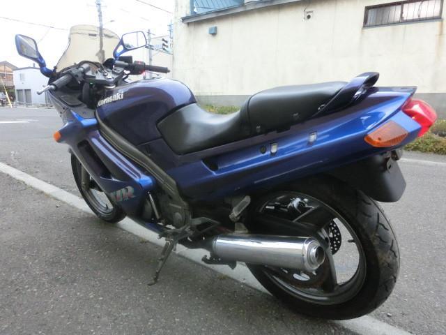 カワサキ ZZ-R250 バッテリー新品 チェーン新品 スクリーン新品の画像(北海道