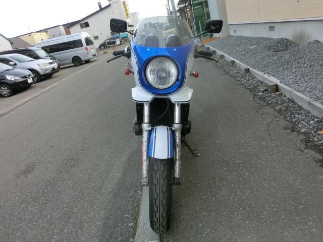 スズキ GSX400インパルス S RPMステンフルエキ ヨシムラEGカバー Bステップの画像(北海道