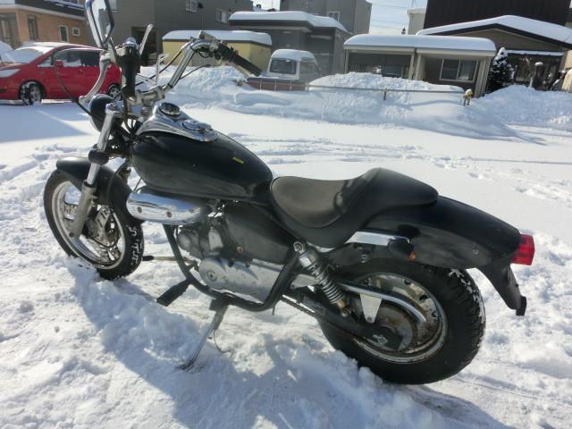 ホンダ MAGNA FIFTY 120キロスピードメーター ミニタコメーター タイヤ新品の画像(北海道