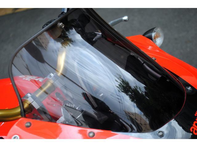 aprilia TUONO1000R・マジカルカーボンミラー・社外ステップ・前後タイヤ新品の画像(東京都