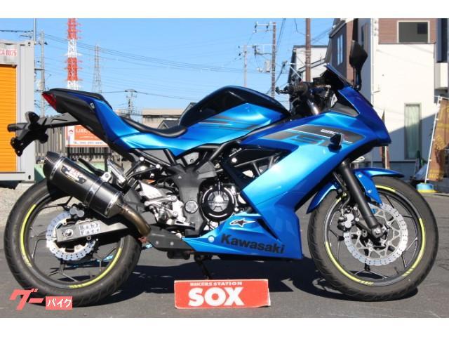 Ninja 250SL 2016年モデル  ヨシムラマフラー装備スクリーン変更