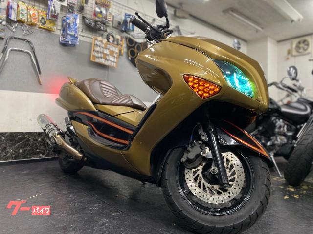 マジェスティ HID LED ストロボ ゴールドリーフ
