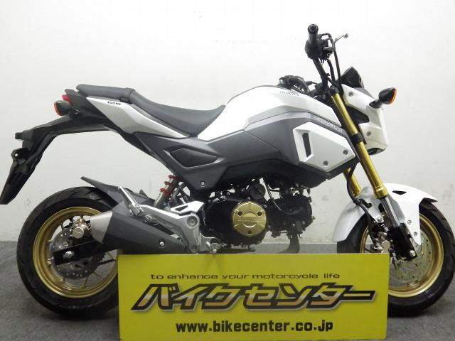 ホンダ グロム 国内モデル JC75型 ホワイトの画像(千葉県