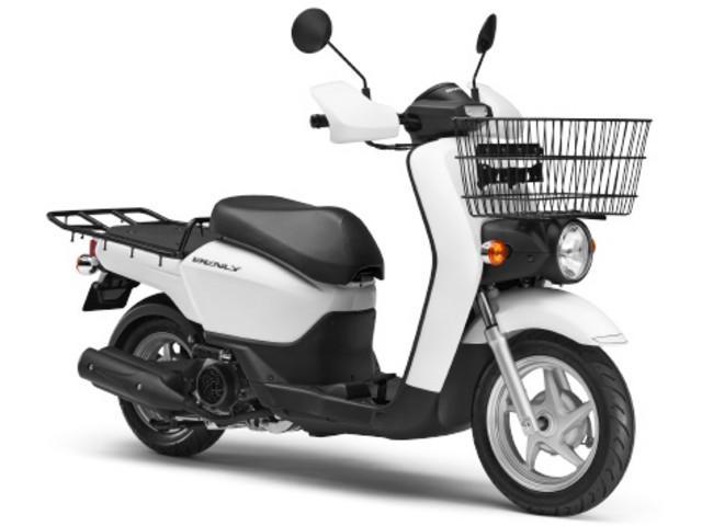 ベンリィ110プロ 国内現行モデル ホワイト