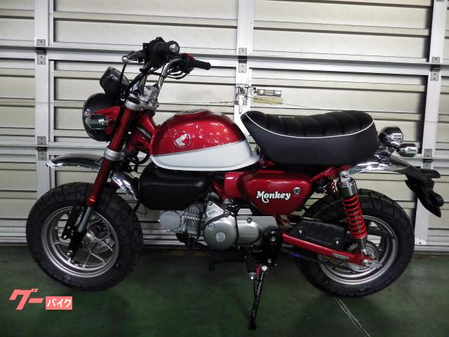 ホンダ モンキー125ABS 国内モデル レッドの画像(千葉県