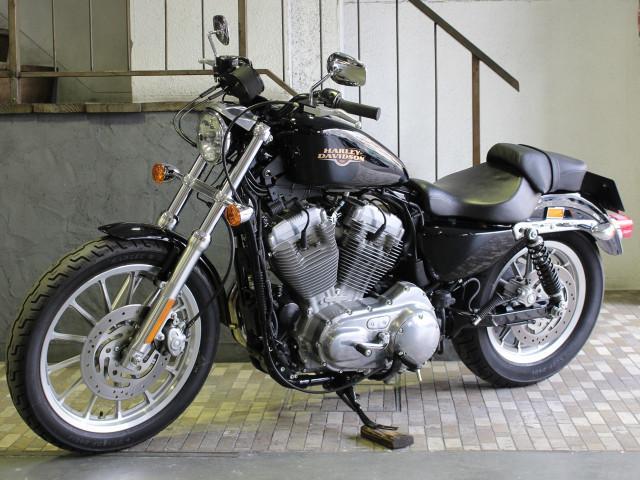 HARLEY-DAVIDSON XL883L ロー デイトナ製タコメーターIKONサスペンションの画像(東京都