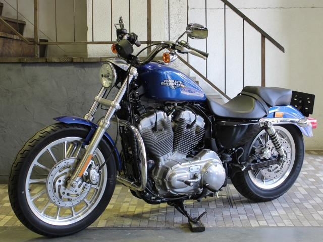 HARLEY-DAVIDSON XL883L ロー タンデム仕様エンジンガード ハンドルバーの画像(東京都