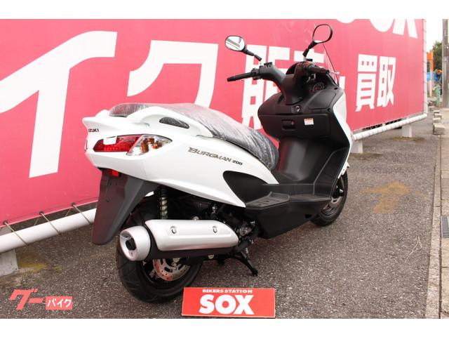 スズキ バーグマン200 L7 新車の画像(千葉県