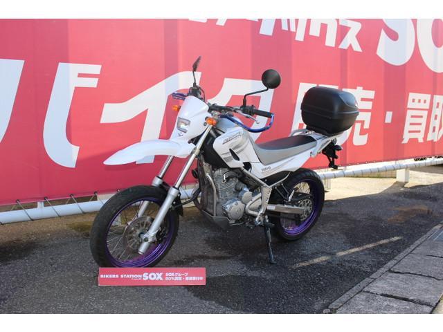ヤマハ XT250X リアボックス装着済みの画像(千葉県