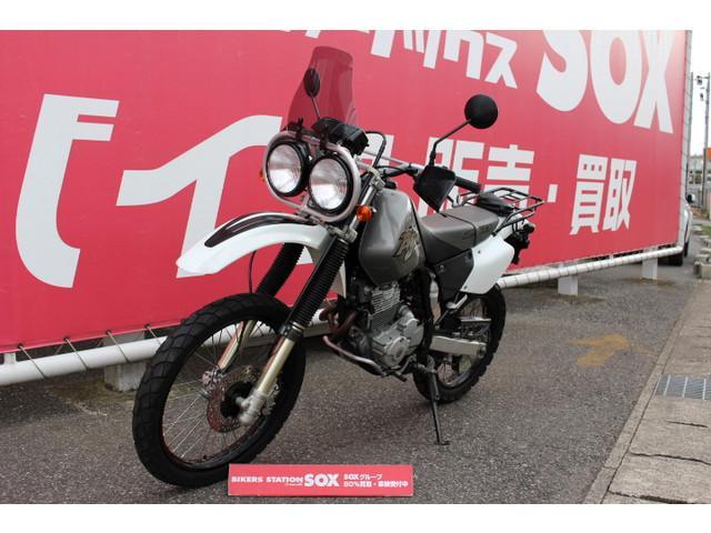 ホンダ XR BAJA リアキャリア スクリーン装備の画像(千葉県