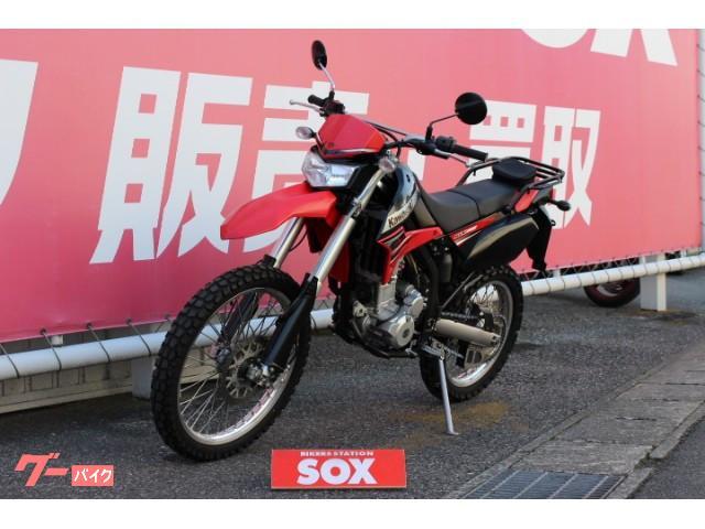 カワサキ KLX250 リアキャリア装備の画像(千葉県