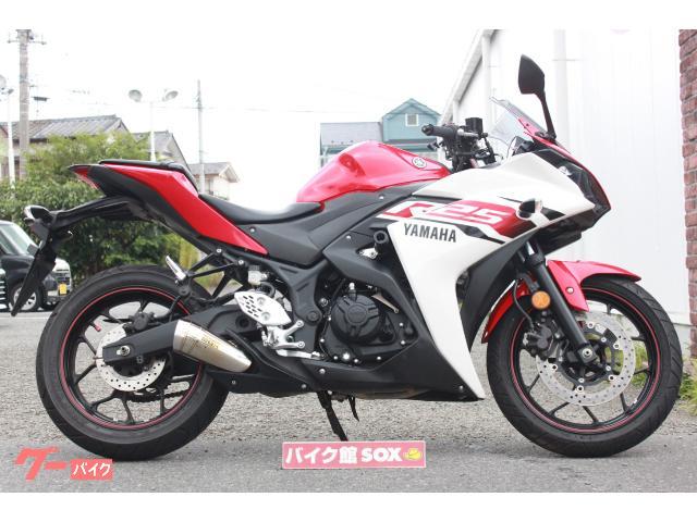 YZF−R25 2015年モデル SP忠男マフラー エンジンスライダー装備