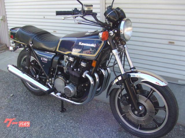 カワサキ Z750FX1型D2の画像(山梨県