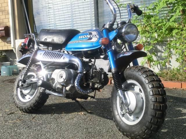 ホンダ モンキー 4L Z50Jの画像(山梨県