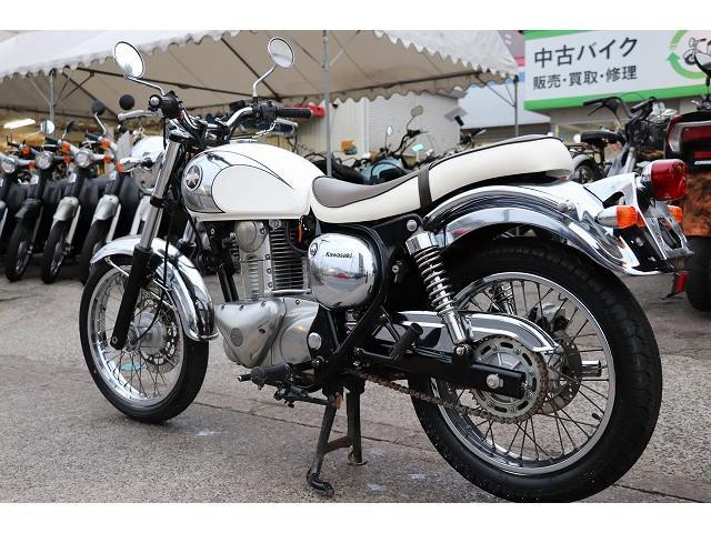 カワサキ エストレヤRS BJ250A ホワイト ノーマルの画像(東京都