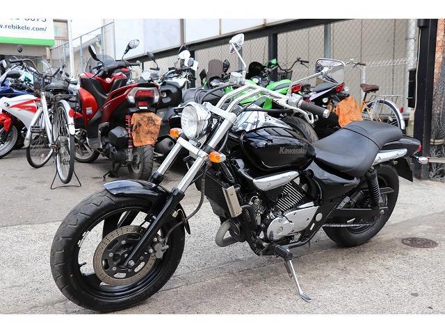 カワサキ エリミネーター250V ブラック VN250A グーバイク鑑定車両の画像(東京都