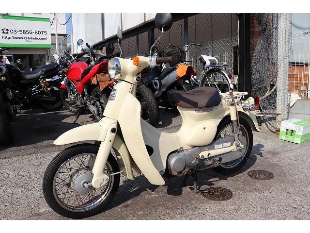 ホンダ リトルカブ ベージュ AA01 グーバイク鑑定車両の画像(東京都