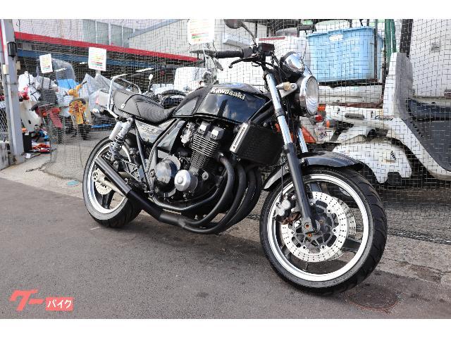 ZRX400−II ZR400E マフラー フェンダーレス
