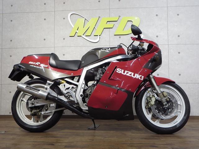 スズキ GSX-R750R ヨシムラマフラ・オーリンズサス付の画像(千葉県