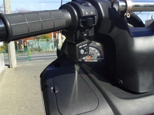 スズキ バーグマン200 グリップヒーター リアキャリア トップケース付の画像(東京都