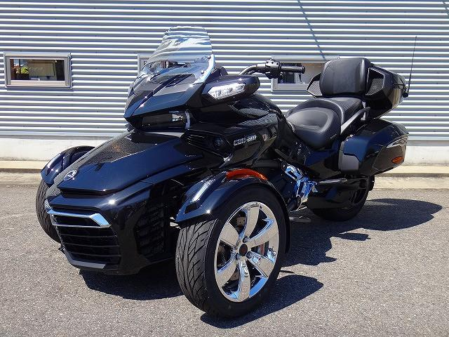 BRP can-am SPYDER F3 LIMITED 2017年モデル セミオートマの画像(新潟県