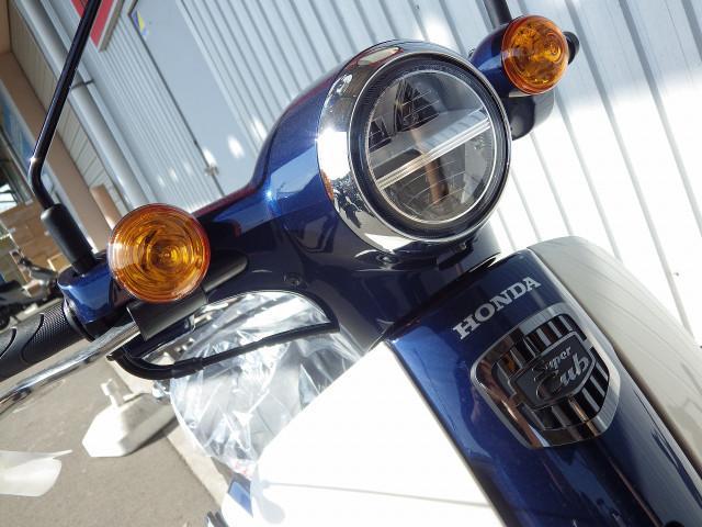 ホンダ スーパーカブ110 国内最新モデル アーベインデニムブルーの画像(千葉県