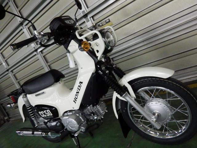 ホンダ クロスカブ50 国内現行モデル ホワイトの画像(千葉県