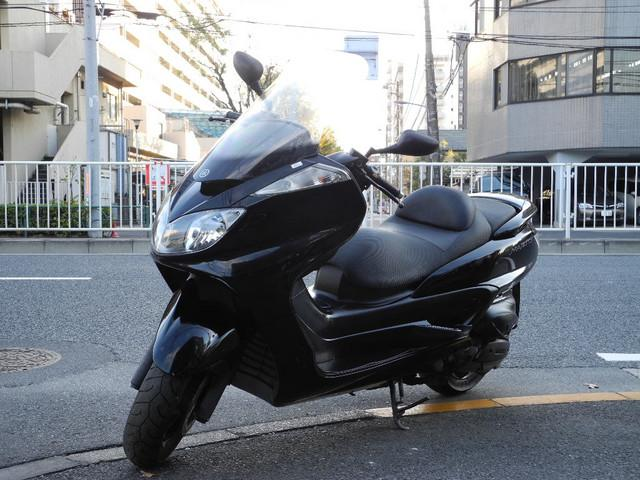ヤマハ グランドマジェスティ250 ブラックカラー フルノーマルの画像(東京都