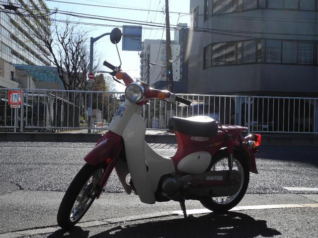 ホンダ リトルカブ ジョリーレッドの画像(東京都