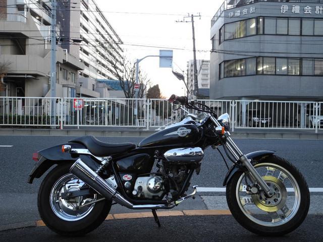 ホンダ MAGNA FIFTY ブラックカラーの画像(東京都