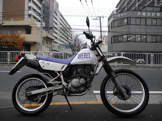 スズキ ジェベル125 デュアルパーパスオフロードの画像(東京都