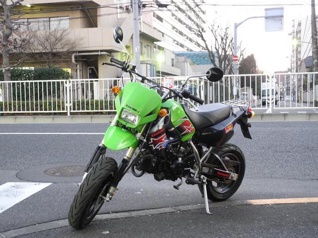 カワサキ KSR110 4スト クラッチキット付の画像(東京都