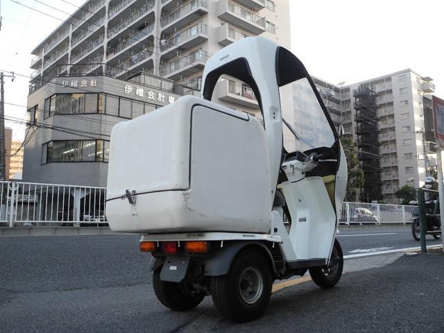 ホンダ ジャイロUP ルーフTOP デリバリーBOXの画像(東京都
