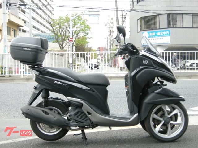トリシティ125 FI ブラック