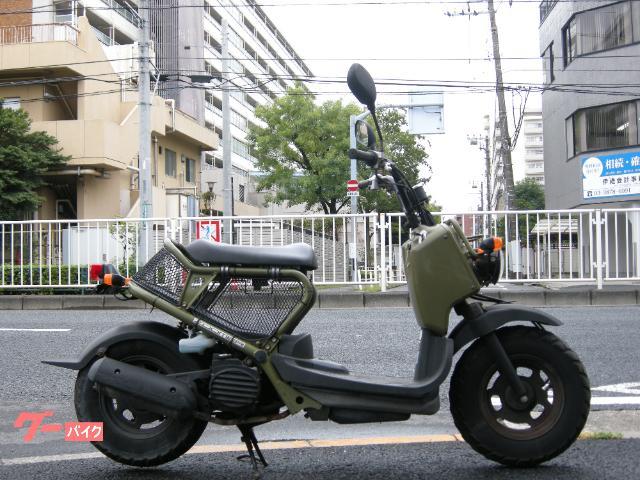ズーマー50cc カムフラージュグリーン 4サイクル セル ネイキッドスクーター