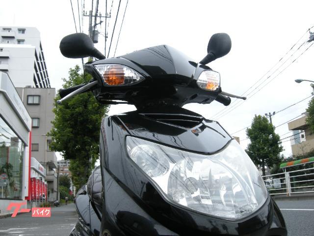 ヤマハ シグナスX SR FI SE44J ブラック カスタムマフラーの画像(東京都