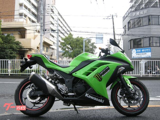 Ninja 250 FI インジェクション ライムグリーン
