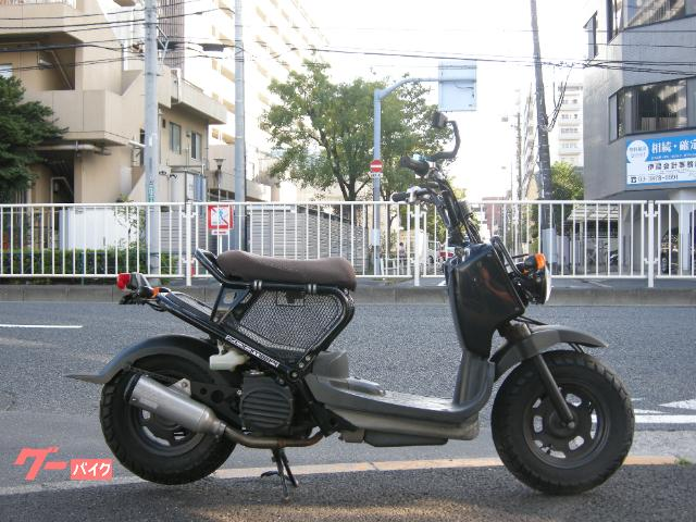 ズーマー 50cc原付 スーパートラップマフラー シートネット ブラック