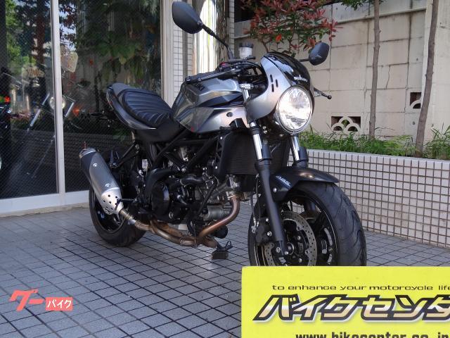 SV650X セパハン セル付き 4サイクル インジェクション マニュアル 2018モデル 092