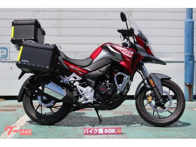 CB190X 国内未発売モデル パニアケース&トップケース