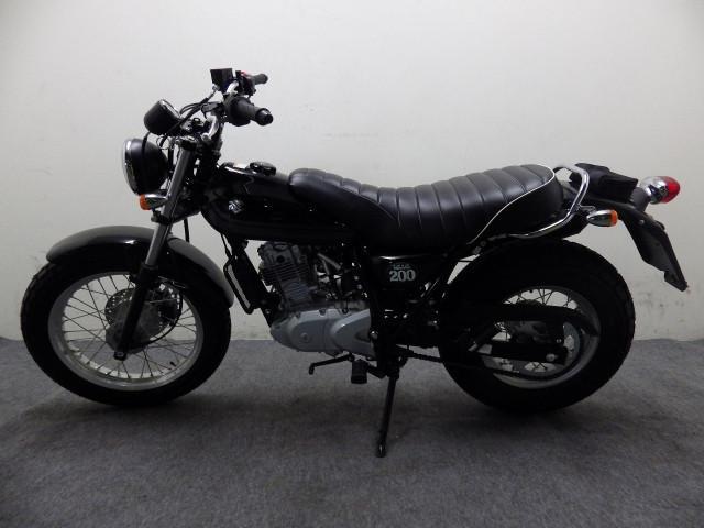 スズキ バンバン200 国内最終モデル ブラックの画像(神奈川県