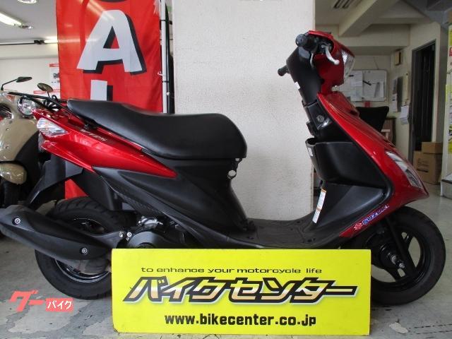 アドレスV125S CF4MA型 2013年式 赤色