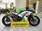 Ninja 250 EX250L型 白緑 2014年モデル
